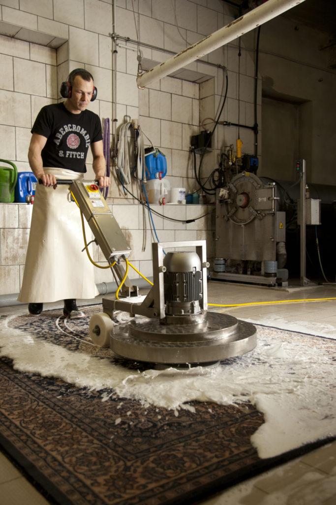 Teppichreinigungsunternehmen